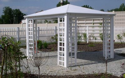 Gazebos and garden sheds